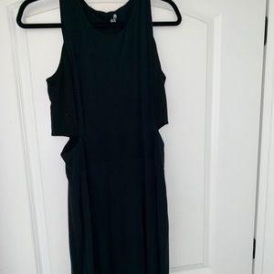 Athlete Cutout Side Slit Dress